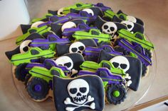Little boy's Grave Digger/Monster Truck Theme Birthday; Cheri's Bakery Wichita, KS