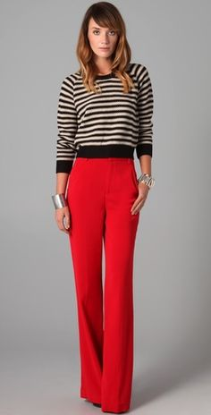 i probably need red pants.