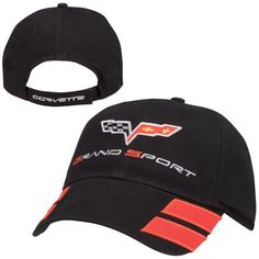 C6 Corvette Grand Sport Black Hat