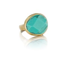 Minaret Faceted Turquoise Ring