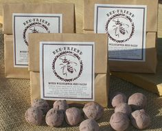 Wildflower Seed Bombs from non-profit upstart BeeFriend Project. Working to help the pollinators and the Earth.