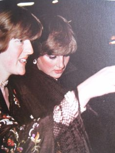 Departing from Princess Margarets party November 4 1980