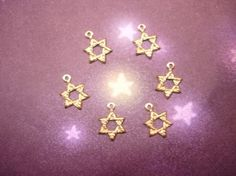 SALE1.006 Tiny Star Of David Charms on Etsy by Charms4Design (Craft Supplies & Tools, Jewelry & Beading Supplies, Charms, Tiny Star of David, Hebrew Charm, hebrew supplies, jewish supplies, earring supplies, bracelet supplies, necklace supplies, pendant supplies, jewelry supplies, jewellery supplies, collage supplies, craft supplies, Charms4Design)