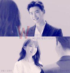 W: Two Worlds   Lee Jong Suk + Han Hyo Joo