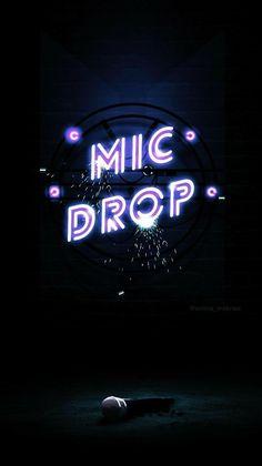 42 Ideas bts wallpaper mic drop lyrics for 2019 Bts Lockscreen, Bts Boys, Bts Bangtan Boy, Jimin, Kpop Tumblr, Kpop Backgrounds, Bts Lyric, Neon Wallpaper, Wallpaper Backgrounds