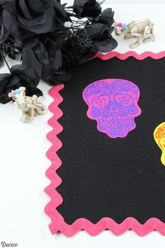Dia de los Muertos Sugar Skull Placemat