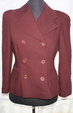 Genuine Karen Millen Vintage Jacket Size 10 by TheBonjEmporium