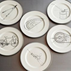 Illustrated Plates - Gifts For Kids - Gift Guide