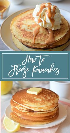 How To Freeze Pancakes in 3 Steps + Tips