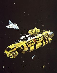 "Chris Foss's ""Currents of Space"" (1972)"