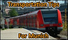 Tips for Getting Around Munich including Metro & Rail Pass advice. The best ways to get to & from the Airport from Munich by bus or Train with the XXl Pass