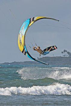 Sam Light, kitesurf