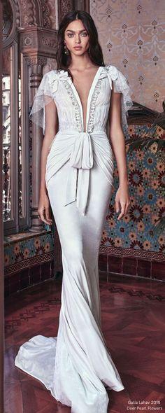 Galia Lahav SS 2018 Wedding Dresses – Victorian Affinity   Deer Pearl Flowers - Part 2 / http://www.deerpearlflowers.com/galia-lahav-ss-2018-wedding-dresses/2/