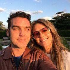 On location of #TheRoyals #season2 with my wonderful Queen @elizabethhurley1 Just before a great dinner with @tommyae @alexandrapark1