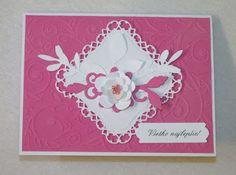 Kika's Designs : White Flower