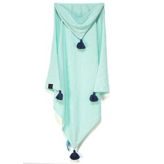 Hooded bamboo baby blanket  #baby #care #room #organic #bamboo #eco #parenting #allergic
