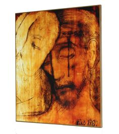 Icono 'El Buen Pastor (1980)', obra de Kiko Argüello, iniciador del Camino Neocatecumenal. Painting, Art, The Good Shepherd, Religious Pictures, Icons, Drive Way, Xmas, Art Background, Painting Art