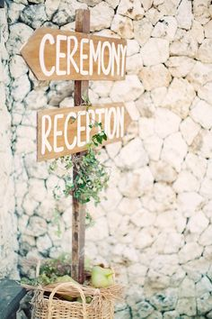 #signs Photography by gerdemark.se Floral + Event Design by bloomzflowersbali.com  Read more - http://www.stylemepretty.com/2013/06/20/bali-wedding-from-erika-gerdemark-photography/