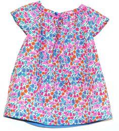 Marie, la blouse en Liberty devenue robe... - Je couds Citronille