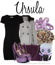"""""""Ursula"""" by disney-villains ❤ liked on Polyvore"""