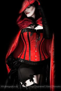 Wow totally my kind of red riding hood