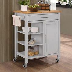 Newfane Kitchen Cart