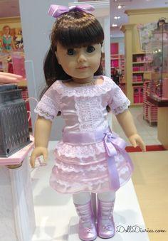American Girl BeForever Samantha Debut Photos | Doll Diaries