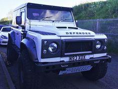 "Custom kitted Land Rover Defender 90 with @grp4x4 new ""Vented Bonnet"" (hood).  - SOURCE: Photo #Regram @grp4x4 / #landrover #rangerover #car #desire #bespoke #expedition #defender110 #adventure #classylady #defender #design #travelawesome #britishcars #rangeroversport #britishcar #icon #exclusive #gentlemen #defender90 #rover #cool #wanderlust #exoticcar #carinstagram #cars #gentleman #landy #carswithoutlimits #LandRoverDefender by lr_bespoke_vehicles Custom kitted Land Rover Defender 90…"