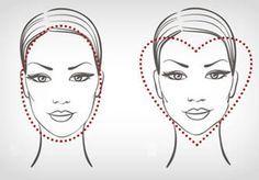 Descubra o Formato do seu Rosto :: Dicas para Mulheres | Mulheres Dicas