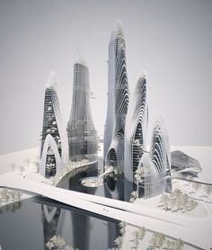 Shanshui City Research - Project by Ma Yangsong