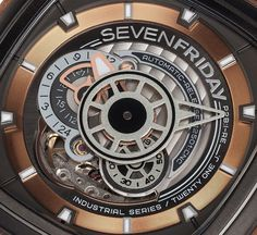 """SevenFriday P2B/03-W 'Woody' Limited Edition Watch -by Zen Love- on aBlogtoWatch.com """"As if SevenFriday weren't already a conversation-starter, something like this on your wrist is sure to get comments. Here, we have a new limited edition of the brand's avant-garde flagship model, the P-series, with a case surrounded in wood. And we must give SevenFriday credit that this is not just another instance of a limited edition with mixed and matched colors – so don't get too distracted by the…"""