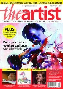 Download The Artist January 2019 Issue Watercolour Tutorials