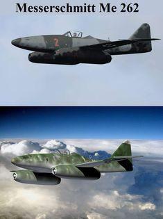 Me - 262 Ww2 Aircraft, Fighter Aircraft, Fighter Jets, Military Jets, Military Aircraft, Luftwaffe, Horten Ho 229, Me262, Messerschmitt Me 262