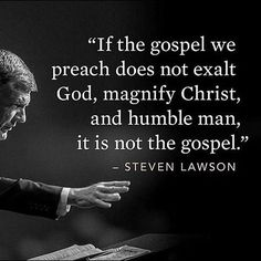 """WEBSTA @ vegaslady42 - """"Oh, magnify the Lord with me, and let us exalt his name together!"""" Psalms 34:3 ESV#StevenLawson #gospelofchrist #preachthetruth #preachtheword #preachthegospel"""