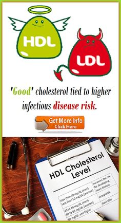 'Good' cholesterol tied to higher infectious disease risk Heart Disease, Cholesterol, How To Stay Healthy, Cardiovascular Disease