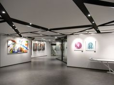 ... 灣仔北 Art One @ Convention Plaza art gallery interior May-2012.JPG