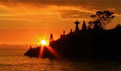 Sunset in Batu Bolong - Lombok Indonesia