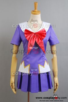 Future-Diary-Gasai-Yuno-Cosplay-Costume: $65.00 Reduced Price: $58.50