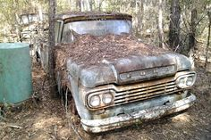 All Natural: 1959 Ford F100 - http://barnfinds.com/natural-1959-ford-f100/