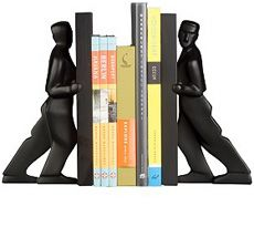 Pushing Bookends | Uncrate