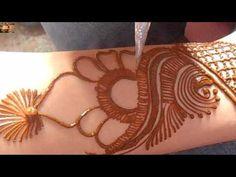 Wrist mehndi design for bride (permission by Mehndi Artistica) - YouTube
