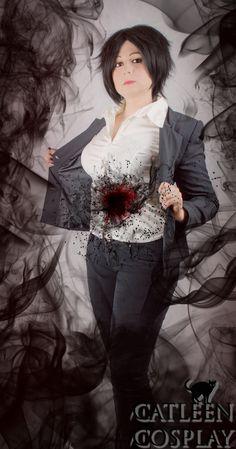Photoshoot: Black Ghost Photoshoot, Photographer: Catleen, Series: Ajin, Character: Izumi Shimomura