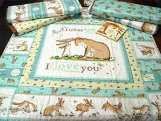guess how much i love you quilt - Google Search