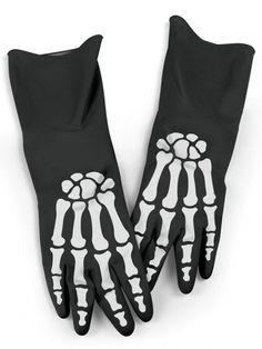 """Bone Dry"" Dishwashing Gloves by Fred & Friends #inkedshop #bonedry…"