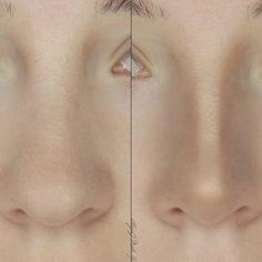 My nose contour #nosecontour #nose #contour #makeupcontouring