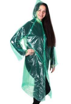 Vinyl Raincoat, Green Raincoat, Rain Wear, Plastic, Fashion, Green, Pram Sets, Dressing Up, Moda