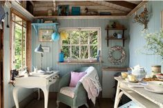 The perfect vintage lean-to