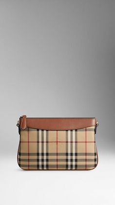 Horseferry Check Clutch Bag from Burberry