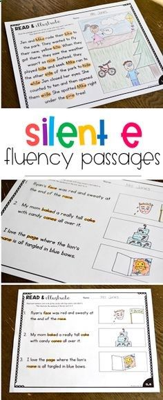 These FREE read  illustrate phonics passages and the perfect way for students to practice fluency. There are passages and sentences to provide for differentiation and these are all for long vowels with silent e. Head over to the post to download the free activity!