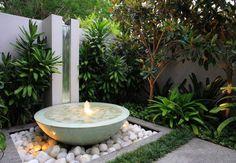 La fontana per arredare il giardino
